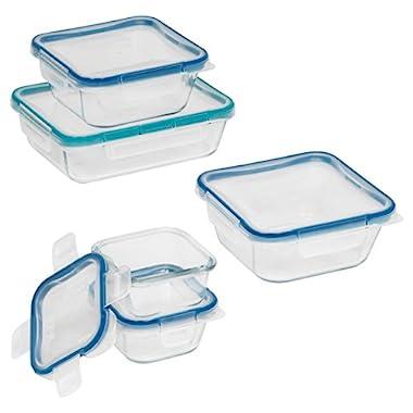 Snapware 10-Piece Total Solution Food Storage Set, Glass
