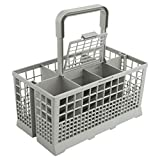 Universal Dishwasher Cutlery Basket (9.5 x 5.4 x 4.8 inches) Compatible with Kenmore, Whirlpool, Bosch,...