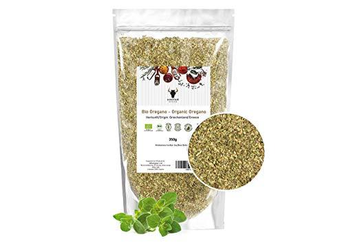 Minotaur Spices | BIO Griechischer Oregano getrocknet und gerebelt 350g | Premium Qualität