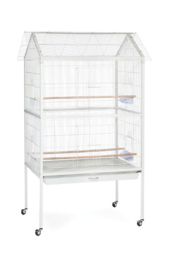 Prevue Pet Products F030 Aviary Flight Cage, White