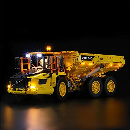 LIGHTAILING Set di Luci per (Technic 6x6 Volvo Camion Articolato) Modello da Costruire - Kit Luce LED Compatibile con Lego 42114(Non Incluso nel Modello)