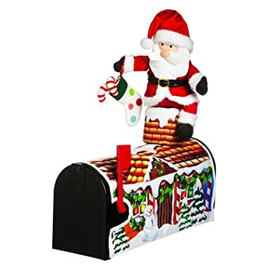 18  Santa Visiting Magnetic Mailbox Cover