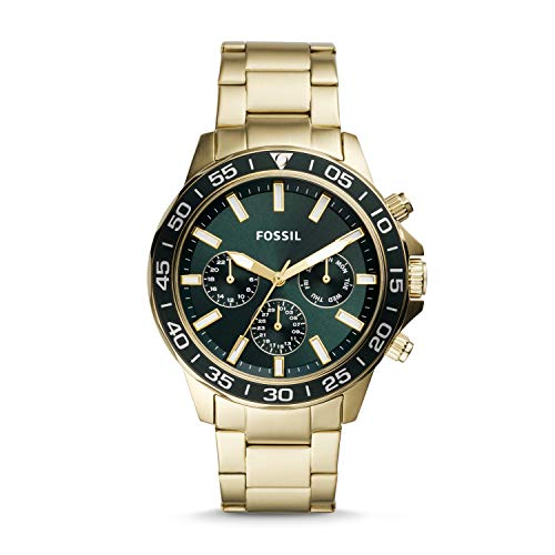 Fossil Bannon Multifunction Gold-Tone Stainless Steel Watch BQ2493