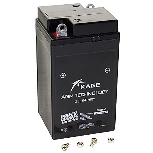 Batterie GEL KAGE B49-6 6Volt für B M W Vespa