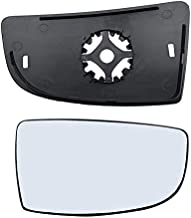 Brand New Passenger Right Side Mirror Replacement Lower Glass with Plate fit Ford Transit 150 250 350 from 2015-Onward