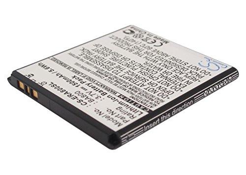 CS-ERA800SL Batería 1500mAh Compatible con [Sony Ericsson] ARC HD, Hikari, LT25, LT25C, LT25i, LT26, LT26i, Nozomi, SO-01E, SOL21, Tsubasa, Tsubasa Xin, Xperia ARC S, Xperia AX, Xperia S, Xperia V, X