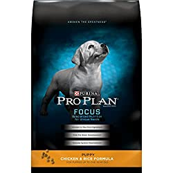 Purina Pro Plan Dry Puppy Food, FOCUS Chicken & Rice Formula