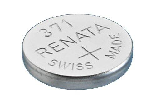 RENATA WATCH BATTERY 1.55V SWISS MADE BATTERIES 371 SR920SW