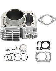 Bloque de cilindros de coche, kit de aluminio de cilindro de pistón de 63,5 mm apto para XR150 CBF150 Upgrade 185cc 200cc