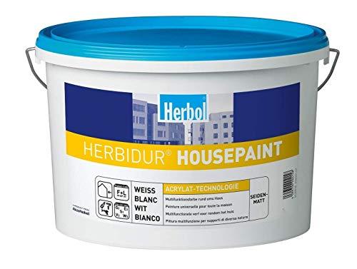 HERBOL HERBIDUR HOUSEPAINT - 12.5 LTR (WEISS)