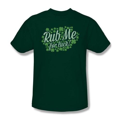 Reiben Sie mich - Männer T-Shirt In Jäger-Grün, XXX-Large, Hunter Green
