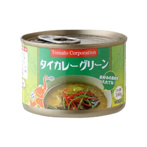 トマトコーポレーション タイカレーグリーン 160g×3缶