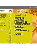Cuerpo de Auxiliares Postales y de Telecomunicación, Escala de Clasificación y Reparto. . Temario y Test (Correos 2012 (cep))