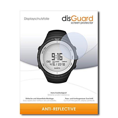 disGuard Displayschutzfolie für Suunto Core Glacier Gray [2 Stück] Anti-Reflex, MATT, Entspiegelnd, Extrem Kratzfest, Anti-Fingerabdruck - Displayschutz, Schutzfolie, Panzerfolie