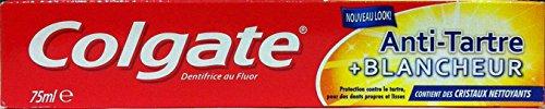 12 x COLGATE Dentifricio Antitartaro & Whitening 75 Ml