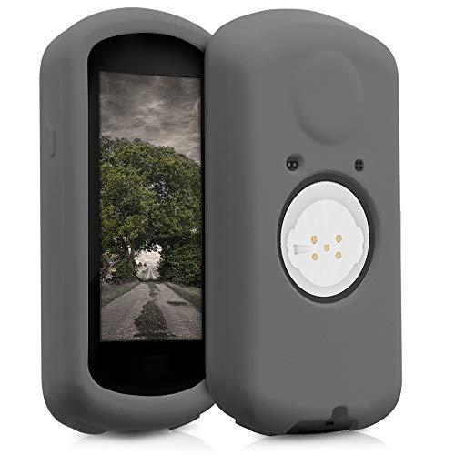 kwmobile Carcasa GPS Compatible con Garmin Edge 1030/1030 Plus - Funda de Silicona para navegdor de Bici - Negro