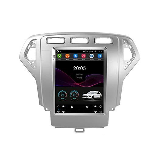 LYHY Android 10.0 Car Stereo Unidad Principal de Doble DIN Compatible con Ford Mondeo Wins Navegación GPS 9 Pantalla táctil Reproductor Multimedia MP5 Receptor de Video y Radio con 4G DSP