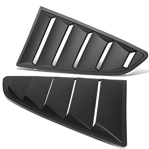 Auto Dynasty Vintage Style Rear Quarter Side Window Louver
