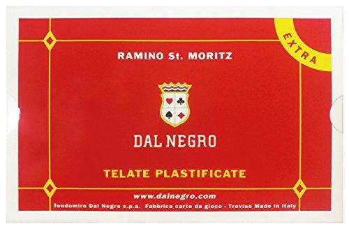 DAL NEGRO Carte Poker Ramino St.Moritz Extra 021047