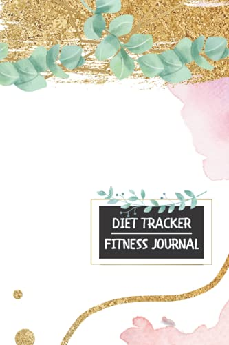 Workout Planner and Nutrition Log Book, Diet Journal, Fitness Tracker, Meal Tracker