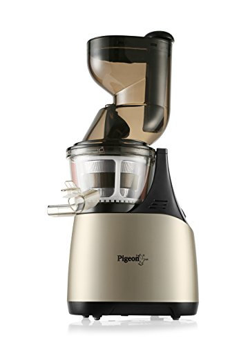 Pigeon by Stovekraft Pure 150 Watt Slow Juicer (Gold/Black)