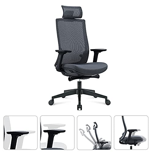 Humview Office Chairs for Heavy People, New in 2021 with 4D Adjustable...