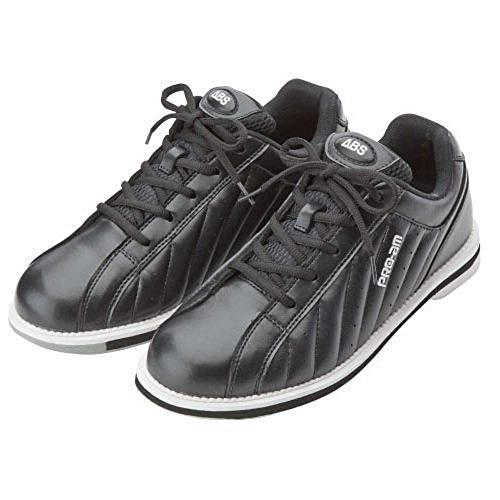 ABS S-250 ブラック・ブラック ボウリング シューズ ボウリング用品 ボーリング グッズ 靴 (27, 右)