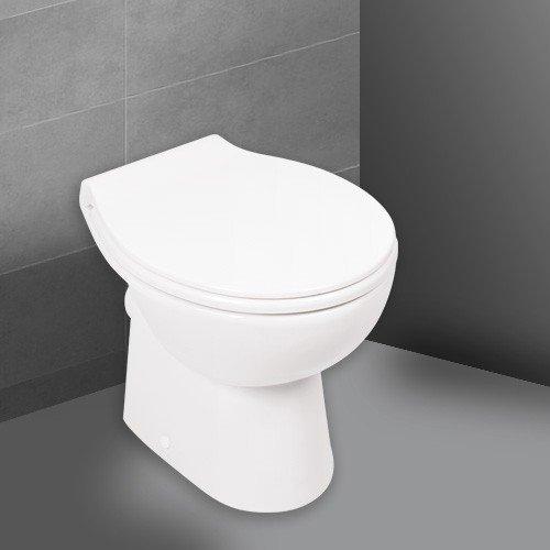 'aquaSu® 57225 5 Stand-WC-Set | Spülrandlos |...