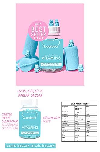 SUGARBEARHAIR Vitamins - 60 gomas (SBH-6407)