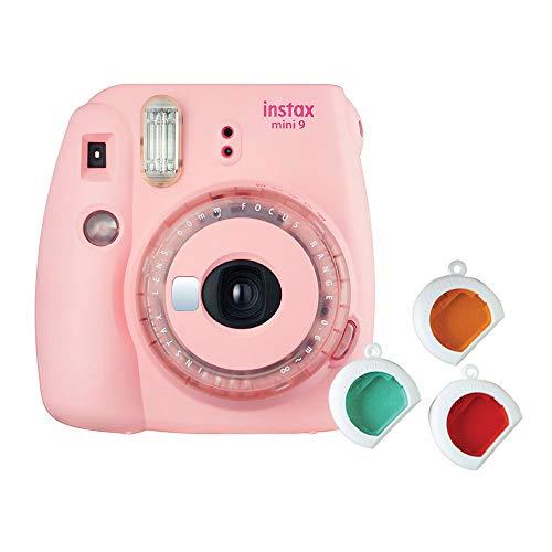 Instax Mini 9 Clear Appareil Photo instantané Rose (Pink)