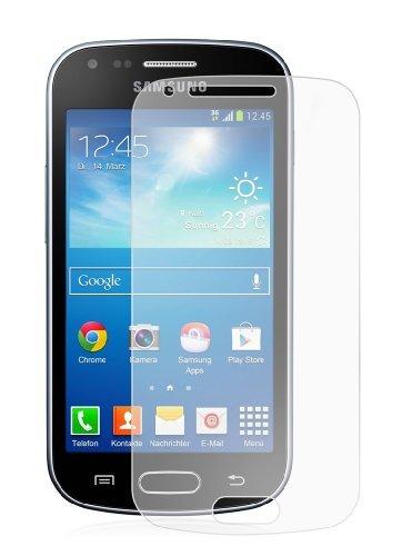 Membrane 3 x Pellicola Protettiva Compatibile con Samsung Galaxy Trend Plus (GT-S7580) - Trasparente