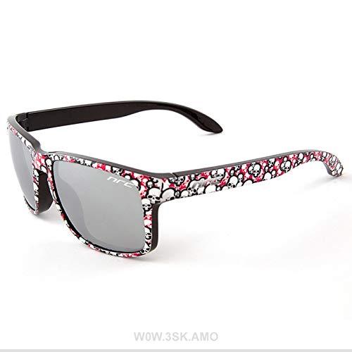 NRC Sportbrille Wow.3SK.AMO, Brille Unisex–Erwachsene, Pink Grafikkarte, Einheitsgröße