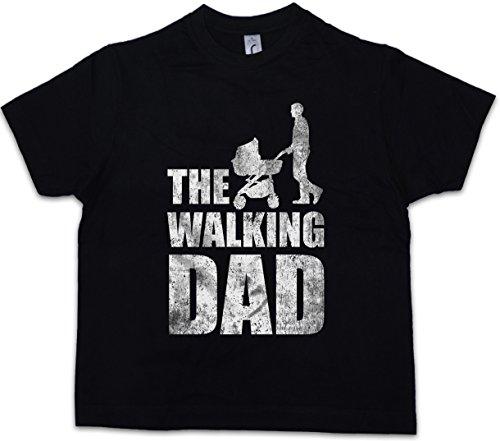 Urban Backwoods The Walking Dad Kinder Jongens T-Shirt Zwart Maat