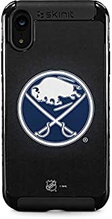 Skinit Cargo Phone Case for iPhone XR - Officially Licensed NHL Buffalo Sabres Black Background Design