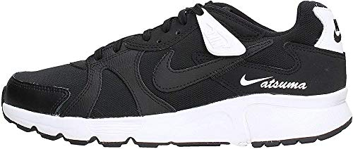 Nike Atsuma, Running Shoe Mens, Negro/Blanco, 44 EU