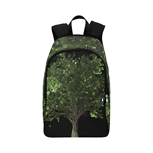 WJJSXKA Zelkova Serrata Tree Bonsai Zelkova Serrata Casual Daypack Travel Bag College School Backpack for Mens and Women