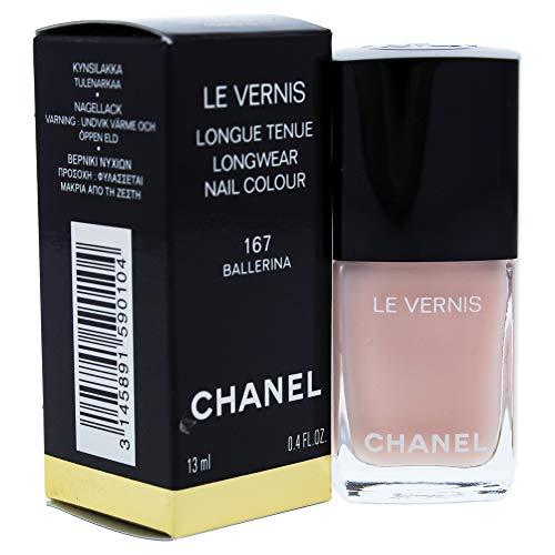 Chanel LE VERNIS LONGWEAR NAIL COLOUR 167 - BALLERINA esmalte de uñas Rosa Brillo 13 ml - Esmaltes de uñas (Rosa, BALLERINA, Protección, 1 pieza(s), 167 - BALLERINA, Brillo)