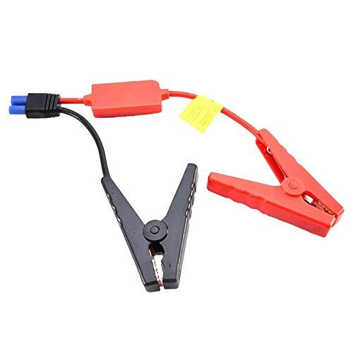 12V Universal Coche Starter Start Battery Conector Conector de la batería de jersey de emergencia Pinza de la pinza Batería Batería (Color : Red)
