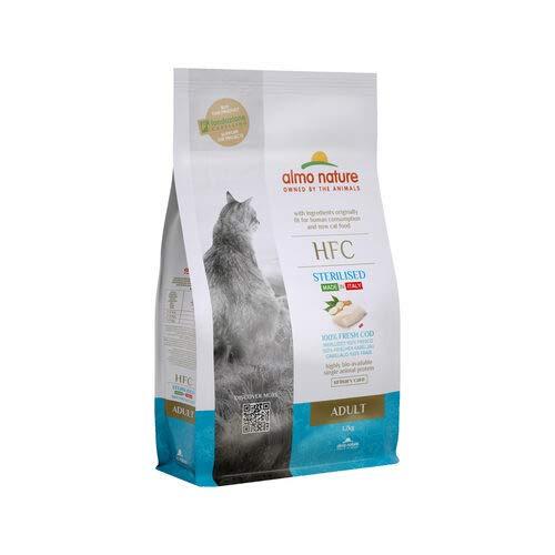 almo nature HFC Adult Sterilised Cat Food – Cod - 1,2 kg