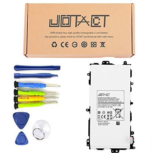 JOTACT SP3770E1H(3.75V 17.25Wh/4600mAh 1-Cell) Tablet Battery Compatible with Samsung Galaxy Note 8.0 gt-n5110 N5120 N5110 sgh-i467 Series Tablet GH43-04588A EB-BT280ABA with Tools