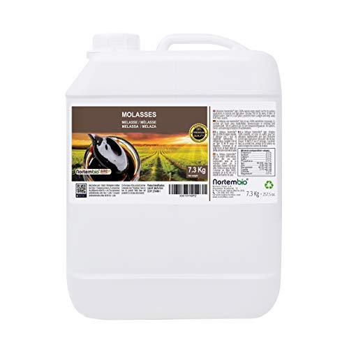 Nortembio Agro Melasse 7,3 Kg. 100% Natürlich. Begünstigt das Pflanzenwachstum. Universell Einsetzbar. Nicht geschwefelt. Entwickelt in Deutschland.