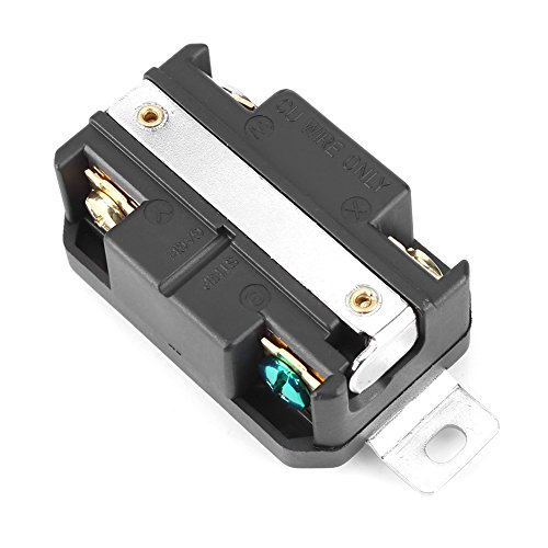 Enchufe hembra, Receptáculo eléctrico con bloqueo de larga vida útil, Receptáculo, Instalación rápida para ensamblaje del cable del generador