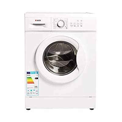 Haden HW1206 Washing Machine – Freestanding Multifunction Front Loading Washer, 1200rpm Spin, 6kg Load, White - CF36