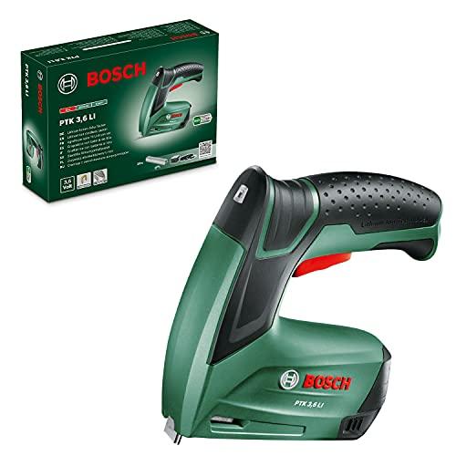 Bosch Home and Garden 603968201 Grapadora (batería integrada, 3.6 V, 30 Impactos/min, en Caja de cartón)