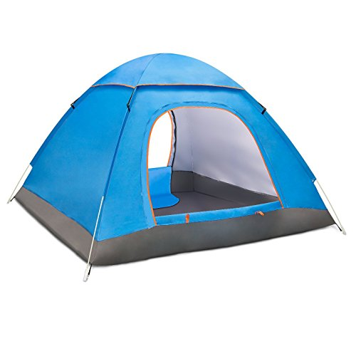 ワンタッチテント ポップアップテント ドーム型 BATTOP 3から4人用 サンシェード キャンプテント 200X200X1...