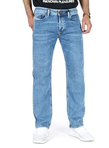 Diesel - Jeans Regular Straight Fit – Waykee R48RA Blu 32W x 30L