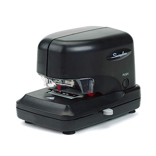 Swingline Electric Stapler, High Volume, 30 Sheet Capacity, Jam Free Stapling, Includes 5000 Staples, Black (69008)