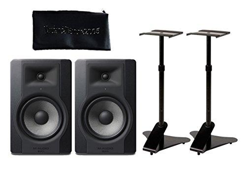 M-AUDIO Sistema Audio Coppia BX8 D3 Monitor da Studio / Supporti / Borsa per Cavi Bundle