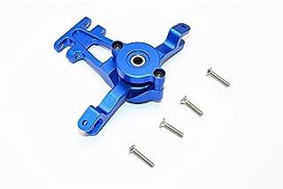 GPM Traxxas E-Revo Brushless / E-Revo VXL 2.0 / Revo / Summit Upgrade Parts Aluminum Steering Assembly - 1 Set Blue