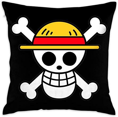 Zylione Anime One Piece decoración Lumbar Pillow Covers Case Cubierta de cojín Pillowcases Funda de Almohada